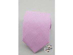 Kravata AVANTGARD LUX bavlněná 601-5016 Fialová (Barva Fialová, Velikost šířka 7 cm, Materiál 100% bavlna)
