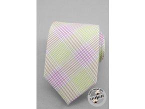Kravata AVANTGARD LUX bavlněná 601-5017 Fialová (Barva Fialová, Velikost šířka 7 cm, Materiál 100% bavlna)