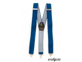 Šle Y 856-9013 Modrá (Barva Modrá, Velikost uni, Materiál 80% polyester a 20% elastan)