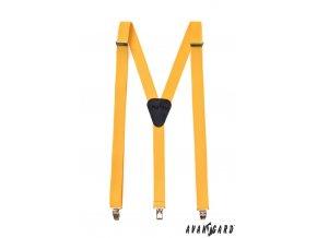 Šle Y - 25 867-9027 Žlutá (Barva Žlutá, Velikost uni, Materiál 80% polyester a 20% elastan)