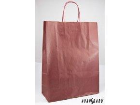 Dárková taška 320x130x425 933-13 Vínová
