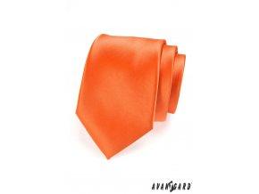 Oranžová kravata