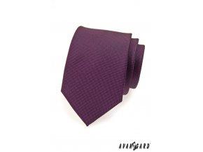Fialová kravata
