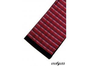 Pánská šála 954-13056 Bordó (Barva Bordó, Velikost 0, Materiál 100% polyester)
