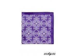 Kapesníček AVANTGARD PREMIUM 612-61058 Fialová (Barva Fialová, Velikost 30x30 cm, Materiál 100% polyester)