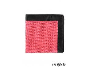 Kapesníček AVANTGARD PREMIUM 612-61064 Červená (Barva Červená, Velikost 30 cm, Materiál 100% polyester)