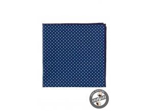 Kapesníček AVANTGARD LUX 583-5101 Modrá s bílým puntíkem (Barva Modrá s bílým puntíkem, Velikost 28x28 cm, Materiál 100% bavlna)