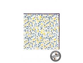 Kapesníček AVANTGARD LUX 583-5103 Bílá (Barva Bílá, Velikost 28x28 cm, Materiál 100% bavlna)