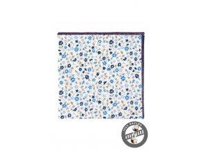 Kapesníček AVANTGARD LUX 583-5104 Bílá (Barva Bílá, Velikost 28x28 cm, Materiál 100% bavlna)