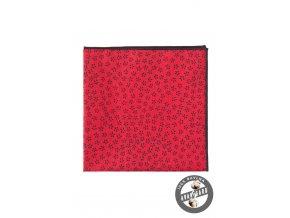 Kapesníček AVANTGARD LUX 583-5105 Červená (Barva Červená, Velikost 28x28 cm, Materiál 100% bavlna)