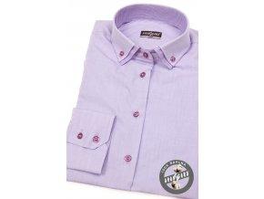 Lila dámská košile, dl.ruk., 720-3833_