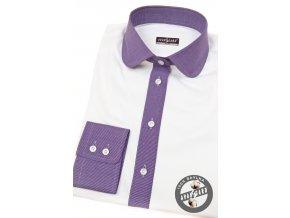 Bílá dámská košile, dl.ruk., 721-0138