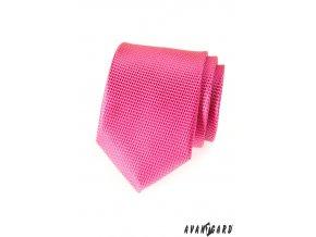 Kravata AVANTGARD 559-1543 Růžová (Barva Růžová, Velikost šířka 7 cm, Materiál 100% polyester)