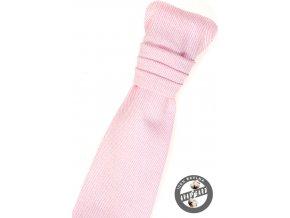 Chlapecká regata PREMIUM + kapesníček 579-5078 Růžová (Barva Růžová, Velikost 0, Materiál 100% bavlna)