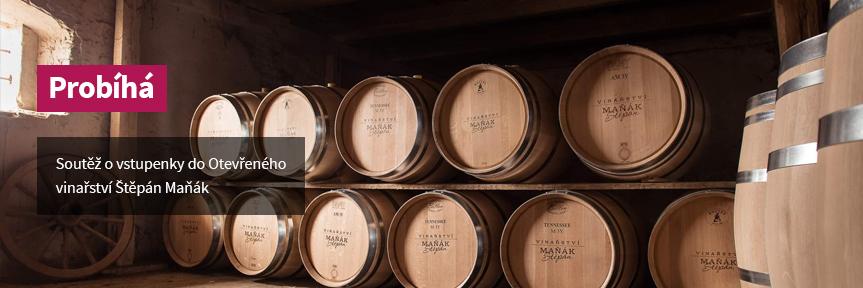Soutěž o vstupenky do Otevřeného vinařství