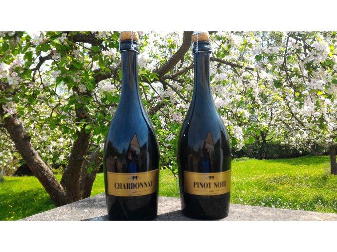 Sekt Chardonay a Pinot Noir