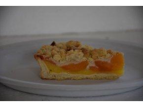 zákusek Křehký koláč meruňka