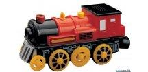 Mašinka - Elektrická lokomotiva, červená Maxim