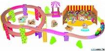 Vláčkodráha Woody - Mašinka - Cirkus