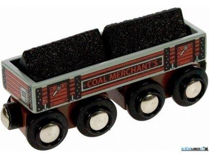 Vagónek - S uhlím Bigjigs
