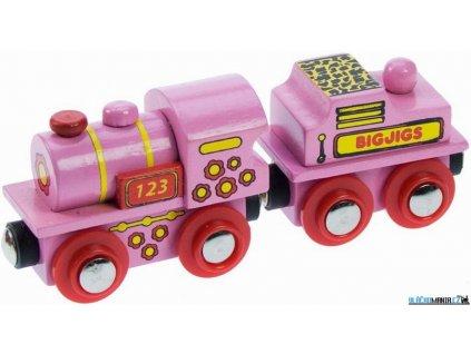 Vláček - Lokomotiva pro princezny Bigjigs