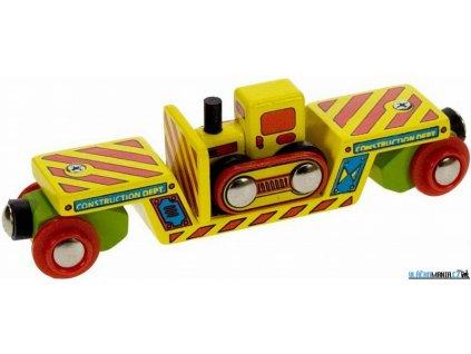 Vagónek - S buldozerem Bigjigs