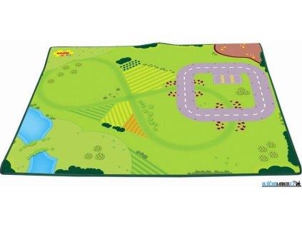 Dětský koberec - Hrací podložka pro vláčkodráhu Bigjigs