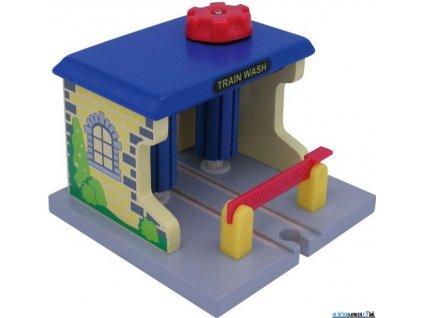 Budova - Vlaková myčka Maxim