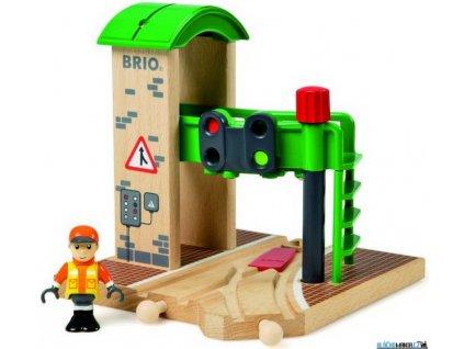 Budova - Signální stanice s výhybkou Brio