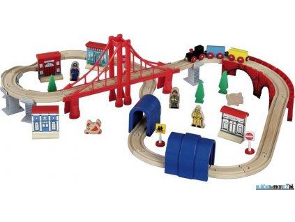 Vláčkodráha Maxim - S mostem San Francisco, 60 dílů