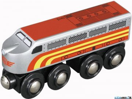 Mašinka - Lokomotiva Santa Fe Maxim