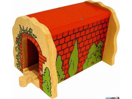 Tunel - Červený cihlový Bigjigs