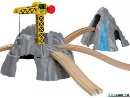 Tunel - Hora s jeřábem a nadjezdy Maxim