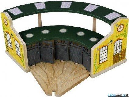 Depo - Velké pětimístné zelené s dveřmi Maxim