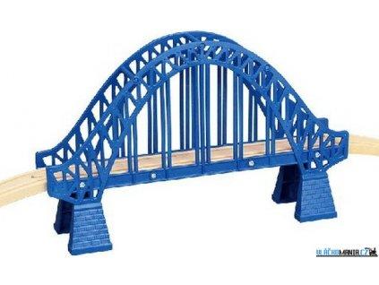 Most - Obloukový s nadjezdy, modrý Maxim