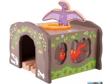 Tunel - Dinosauří, T-Rex Bigjigs
