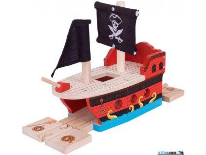 Trajekt - Pirátská galéra Bigjigs