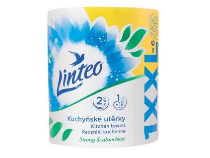 Kuchyňské utěrky linteo classic XXL 1 role, bílé, 2 vrstvé