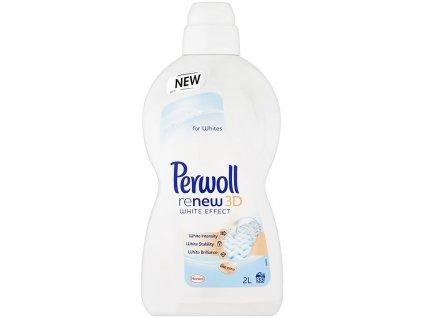 Perwoll ReNew 3D White Effect prací prostředek na bílé prádlo 3 L