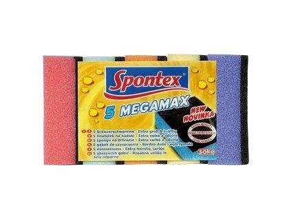 Spontex houba na nadobi velka 5 ks Megamax