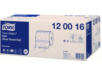 Tork Matic Soft papírové ručníky v roli Premium