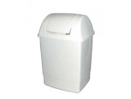 Odpadkový koš hranatý s víkem 12 l