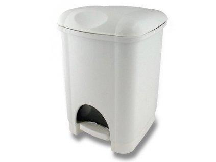 Odpadkový koš s plastovou vložkou 16 l