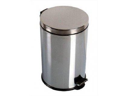 Odpadkový nerezový pedálový koš 20 l