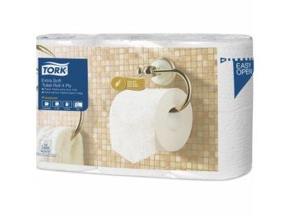 tork extra jemny toaletni papir konvencni role 4 vrstvy 9 7 x 12 5 cm 19 m 42 rl kt