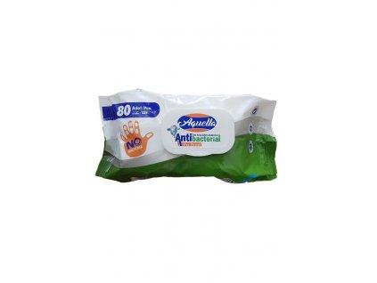 Aquella univerzální vlhčené ubrousky 80 ks antibakteriální