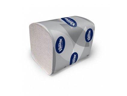 kleenex ultra toaletni papir skladany 200 bily 2 vrstvy