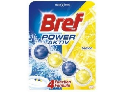 Bref Power Aktiv WC blok Lemon 51 g
