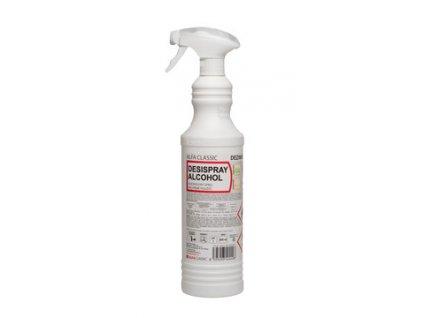 DESISPRAY ALCOHOL, 800 ml, s rozprašovačem, dezinfekční prostředek pro přímé použití