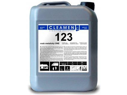 CLEAMEN 123 vosk metalický ONE 5 l